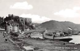 Gezicht Op Citadel Te Hoei - Huy