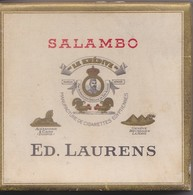 Salambo - Ed.Laurens - Boites à Tabac Vides