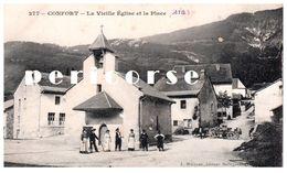 01  Confort  La Vieille église Et La Place - Otros Municipios