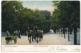 Scheveningen, Prins Willemstraat, Lively Scene, Undivided Back, Postally Used In 1905 - Scheveningen
