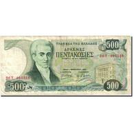 Billet, Grèce, 500 Drachmaes, 1983-1987, 1983-02-01, KM:201a, TTB - Greece
