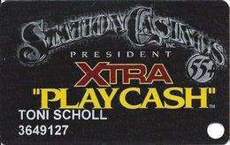 Station Casinos Las Vegas, NV - Slot Card Copyright 2001 - President Xtra Play Cash 55+ - Casino Cards