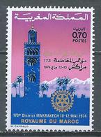 Maroc YT N°700 Rotary International Neuf ** - Marocco (1956-...)