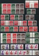 40489) BERLIN Zusammendruck & Heftchenblatt - Lot Postfrisch Aus 1966-89, 414.- € - Se-Tenant