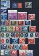 40490) DDR - Lot Postfrisch Aus 1949-Mitte 1952 (fast Komplett), 769.- € - Ungebraucht