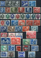 40491) DDR - Lot Gestempelt Aus 1949-56, 1.200.- € - Oblitérés