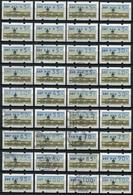 40494) BERLIN Automatenmarken - Lot Gestempelt/ Postfrisch - Briefmarken