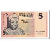 Billet, Nigéria, 5 Naira, 2006-2008, 2006, KM:32a, NEUF - Nigeria
