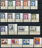 40495) BERLIN Formnummern - Lot Gestempelt/ Postfrisch - Briefmarken