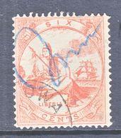 LIBERIA  13   THIN  PAPER   (o)  No  Frameline - Liberia