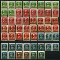 40497) SAAR - Lot Gefalzt Aus 1920 - 1920-35 Saargebiet – Abstimmungsgebiet