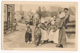 Volendam, Children In Traditional Costume, ± 1930 - Volendam