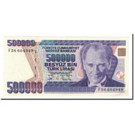 Billet, Turquie, 500,000 Lira, 1998, KM:212, NEUF - Turquie