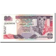 Billet, Sri Lanka, 20 Rupees, 2006, 2006-07-03, KM:109a, NEUF - Sri Lanka