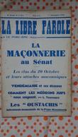 La Libre Parole ,le Porc- épic (hebdomadaire) ,6eme Année , 1er Décembre 1935 ,n°3 - Politique