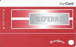 Station Casinos Las Vegas, NV - Slot Card Copyright 2008 - Preferred My Card / 7 Casino Logos / BLANK - Casino Cards