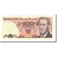 Billet, Pologne, 100 Zlotych, 1975-1988, 1986, KM:143e, NEUF - Poland