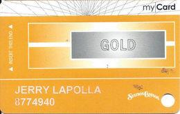 Station Casinos Las Vegas, NV - Slot Card Copyright 2008 - Gold My Card / 8 Casinos Listed - Casino Cards