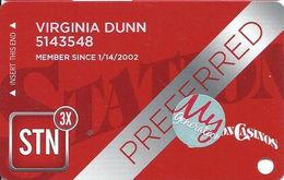 Station Casinos Las Vegas, NV - Slot Card Copyright 2014 - Preferred / My Generation Sticker - Casino Cards