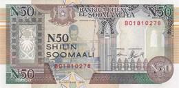 Somalie - Billet De 50 Shilin - 1991 - Neuf - Somalie
