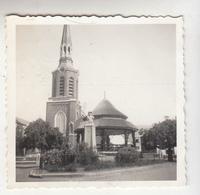 Beringen - Kerk En Kiosk - Originele Foto Formaat 5.5 X 6 Cm - Lieux