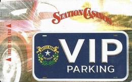Station Casinos Las Vegas, NV - Parking Card - Copyright 2015 - Exp 12/31/15 - Casino Cards