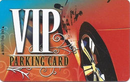 Station Casinos Las Vegas, NV - Parking Card - Copyright 2007 - Exp 2/15/08 - Casino Cards