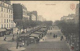 TOUT PARIS 14       Boulevard Et Marché Edgar-Quinet - Arrondissement: 14