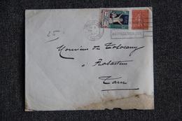 Timbres Sur Lettre, TOULOUSE Vers RABASTENS - Commemorative Labels