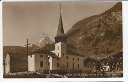 Eglise De Zermatt Et Le Mt. Cervin (4505 M) - VS Wallis