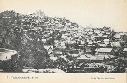 Madagascar, Tananarive, Vue Générale - Carte F.N. N° 7 Non Circulée - Madagascar