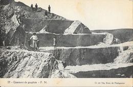 Madagascar, Gisement De Graphite, Mines à Ciel Ouvert - Carte F.N. N° 22 Non Circulée - Madagascar