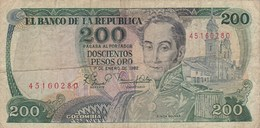 Colombie - Billet De 200 Pesos - Simon Bolivar - 1er Janvier 1982 - Colombia