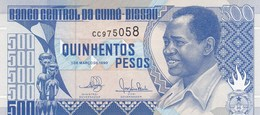 Guinée-Bissau - Billet De 500 Pesos - Francisco Mendes - 1er Mars 1990 - Neuf - Guinea-Bissau