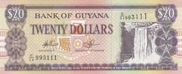 Guyana - Billet De 20 Dollars - Non Daté - Neuf - Guyana