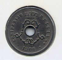 LEOPOLD II  * 5 Cent 1906 Vlaams * Nr 8332 - 1865-1909: Leopold II