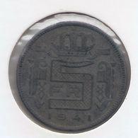 LEOPOLD III * 5 Frank 1941 Vlaams * Prachtig * Nr 7654 - 1934-1945: Leopold III