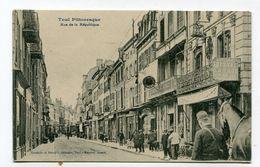 CPA  54 : TOUL  Rue De La République Très Animée  A  VOIR  !!!!!!! - Toul