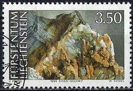 Liechtenstein 1994 - Mineral : The Dolomite ( Mi 1095 - YT 1036 ) - Liechtenstein