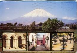 PERU  AREQUIPA  Vulcan  Vulcano  EMA Stamp - Perù