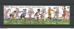Belgium 2011 Sports Strip OCB 4155/4159 (0) - Belgium
