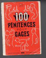 (jeux) Paul Joie : 100 Pénitences Pour Gages  1953 (ill Robert Rigot??  Non Signé) (F.6244) - Livres, BD, Revues