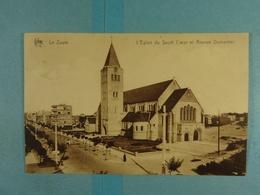 Le Zoute L'Eglise Du Sacré Coeur Et Avenue Dumortier - Knokke
