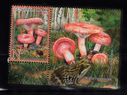 Wit-Rusland 2013 Mi Nr 971, Paddenstoelen, Mushroom - Wit-Rusland