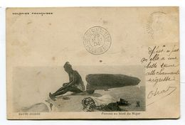 CPA  Afrique : Haute GUINEE  Femme Nu 1904    VOIR   DESCRIPTIF  §§§ - Guinée Française