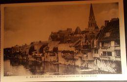 Argenton Vieilles Galeries Sur La Rive Droite - France