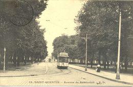 Tramway -  Saint Quentin - Avenue De Remicourt - Ecrite - 5801 - Saint Quentin