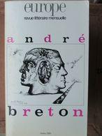 Revue Europe - Revue Littéraire - N°743 (mars 1991) André Breton - Altri