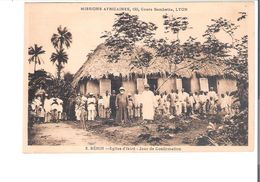 C.P.A. BENIN   Eglise D'EKIRE Jour De Confirmation - Benin