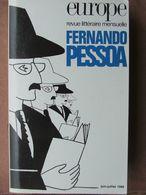 Revue Europe - Revue Littéraire - N°710/711 (juin-juil 1988) Fernando Pessoa - Altri